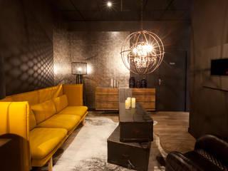 Espace salon - séjour: Espaces commerciaux de style  par IDKREA