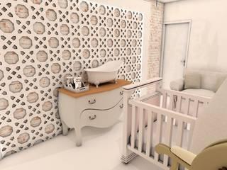 Suite do Bebê:   por Deise Luna Arquitetura