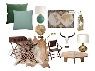 Africa Mood :   por Rafaela Fraga Brás Design de Interiores & Homestyling