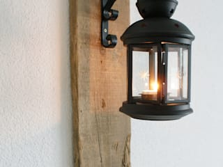 ~ Treibholzkonsole mit Laterne ~ von nordic Art Ausgefallen