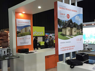 Stand Inmobiliaria CISS de A+ i Arquitectura & Interiorismo Moderno