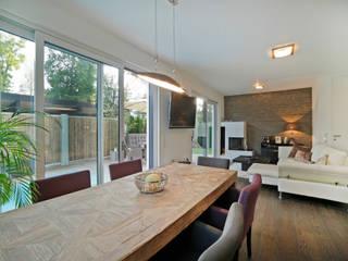 Architektenvilla im Würmtal Moderne Wohnzimmer von Gerhard Blank Fotografie für Immobilien & Architektur Modern