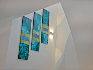 Architektenvilla im Würmtal Moderner Flur, Diele & Treppenhaus von Gerhard Blank Fotografie für Immobilien & Architektur Modern