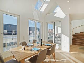 Ganz oben in Schwabing Moderne Wohnzimmer von Gerhard Blank Fotografie für Immobilien & Architektur Modern