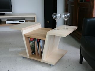 Il ciliegio dentro:  in stile  di Studio Nicola Tessari, Minimalista