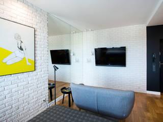 Modern living room by Anna Serafin Architektura Wnętrz Modern