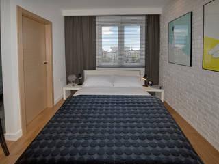Modern style bedroom by Anna Serafin Architektura Wnętrz Modern