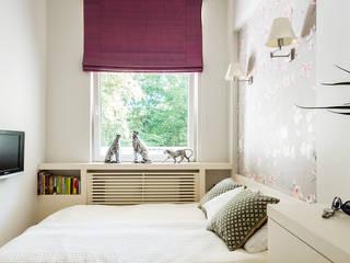 Phòng ngủ phong cách hiện đại bởi Anna Serafin Architektura Wnętrz Hiện đại