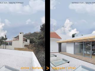 NUEVO ESTUDIO INDEPENDIENTE EN TERRAZA:  de estilo  de ARQUiDEAS.TENERIFE consultorio de arquitectura