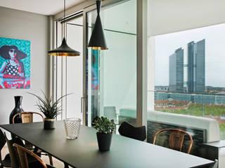 Schwabinger Tor in München Moderne Wohnzimmer von Gerhard Blank Fotografie für Immobilien & Architektur Modern