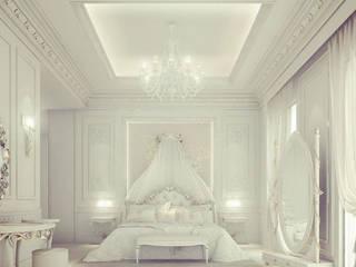 Interior Design & Architecture by IONS DESIGN Dubai,UAE Classic style bedroom by IONS DESIGN Classic