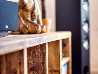 Lowboard Rustikale Wohnzimmer von edictum - UNIKAT MOBILIAR Rustikal