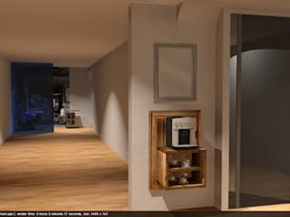 """interior design for """"Optik Vornberger"""" by edictum - UNIQUE FURNITURE de edictum - UNIKAT MOBILIAR Rústico"""