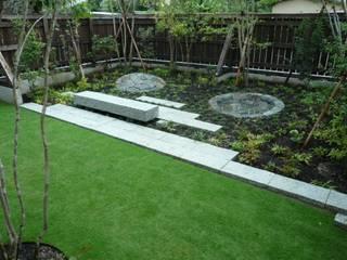前畑の庭 主庭: 鈴木庭苑が手掛けた庭です。