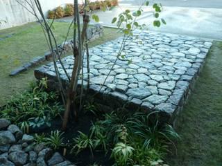 桜海道officeの庭 モダンな庭 の 鈴木庭苑 モダン