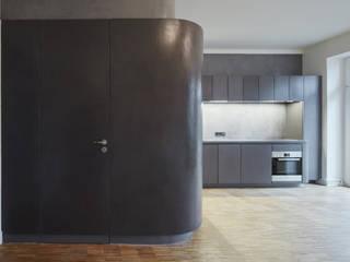Beton Cire Küche:  Küche von PA Tischlerei GbR