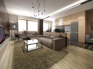 Квартира в современном стиле: Гостиная в . Автор – Circus28_interior,