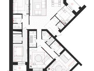 minimalist  by nadine buslaeva interior design, Minimalist