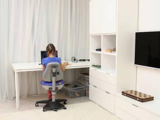 Dormitorios infantiles de estilo minimalista por nadine buslaeva interior design