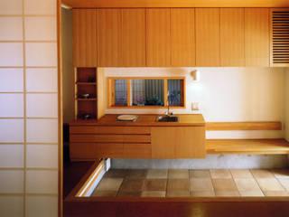 岩川アトリエ 現代風玄關、走廊與階梯