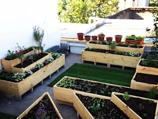 Agricultura Urbana / Huerta Urbana: Jardines de estilo  por WILD PROYECT CHILE