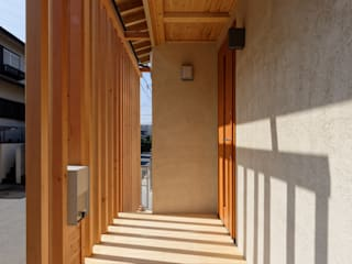 Terrace by 高野三上アーキテクツ一級建築設計事務所  TM Architects, Modern