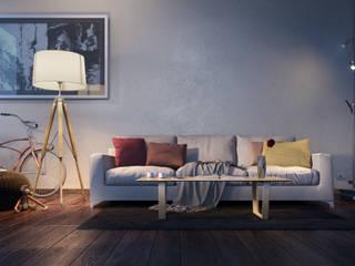 Personal work Soggiorno moderno di Realistic Art Render Moderno