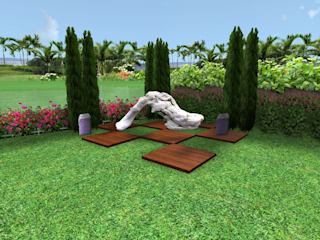AYTÜL TEMİZ LANDSCAPE DESIGN Jardins modernos Madeira