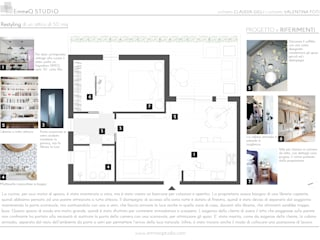 RESTYLING appartamento:  in stile  di EmmeQ STUDIO