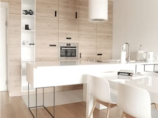 Modern style kitchen by Modullar Modern