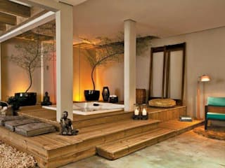 Egzotyczne spa od Perotto E Fontoura Estúdio de Arquitetura Egzotyczny