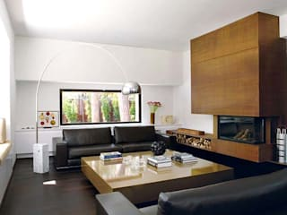 Modern living room by Ines Benavides Modern