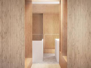 Belle Ville Atelier d'Architecture 北欧風商業空間 木 木目調