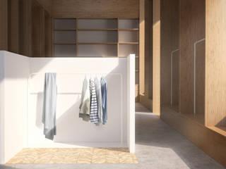 Belle Ville Atelier d'Architecture 北欧風商業空間 木 白色