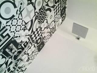 ArcKid Salle de bain moderne Gris