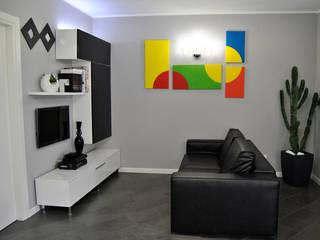 现代客厅設計點子、靈感 & 圖片 根據 ArcKid 現代風