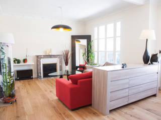Living room by Olivier Olindo Architecte