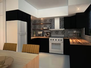 Rotoarquitectura Built-in kitchens