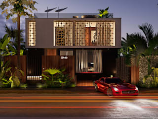 House in Casablanca, Marocco: Дома в . Автор – Diff.Studio, Минимализм