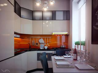 Небольшая кухня в Ялте: Кухни в . Автор – Василий Сибирцев