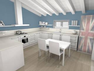 ArcKid Einbauküche Holz Weiß