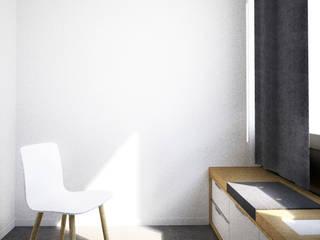 Belle Ville Atelier d'Architecture Tòa nhà văn phòng Gỗ White