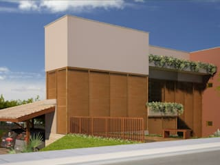 Casa R&M - Cachoeira do Campo - MG Casas campestres por Vale Arquitetura Campestre