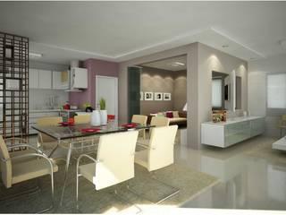 Arquitetura de Interiores - Ambientes Diversos Salas de jantar modernas por Vale Arquitetura Moderno