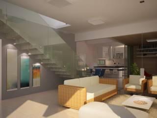 Arquitetura de Interiores - Ambientes Diversos: Salas de estar  por Vale Arquitetura,