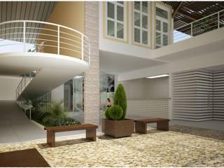 Residenciais - Ambientes Externos - Diversos Varandas, alpendres e terraços coloniais por Vale Arquitetura Colonial