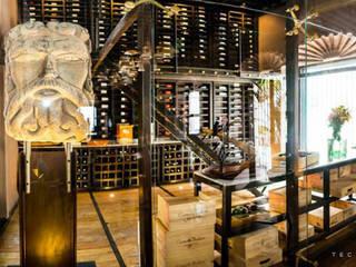 Cave à vin coloniale par Tectónico Colonial