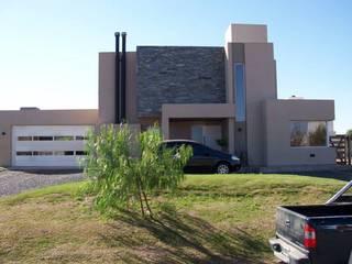 Casa en Barro San Isidro Villa Residencial - Villa Allende Cordoba Casas modernas: Ideas, imágenes y decoración de Alejandro Asbert Arquitecto Moderno