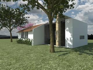CASA EN PARCELACION CAMPESTRE CUMBRE - Cumbre, Valle Casas modernas de MODOS Arquitectura Moderno