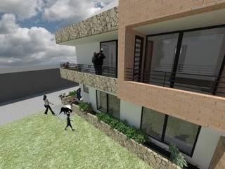 Casas de estilo  por MODOS Arquitectura